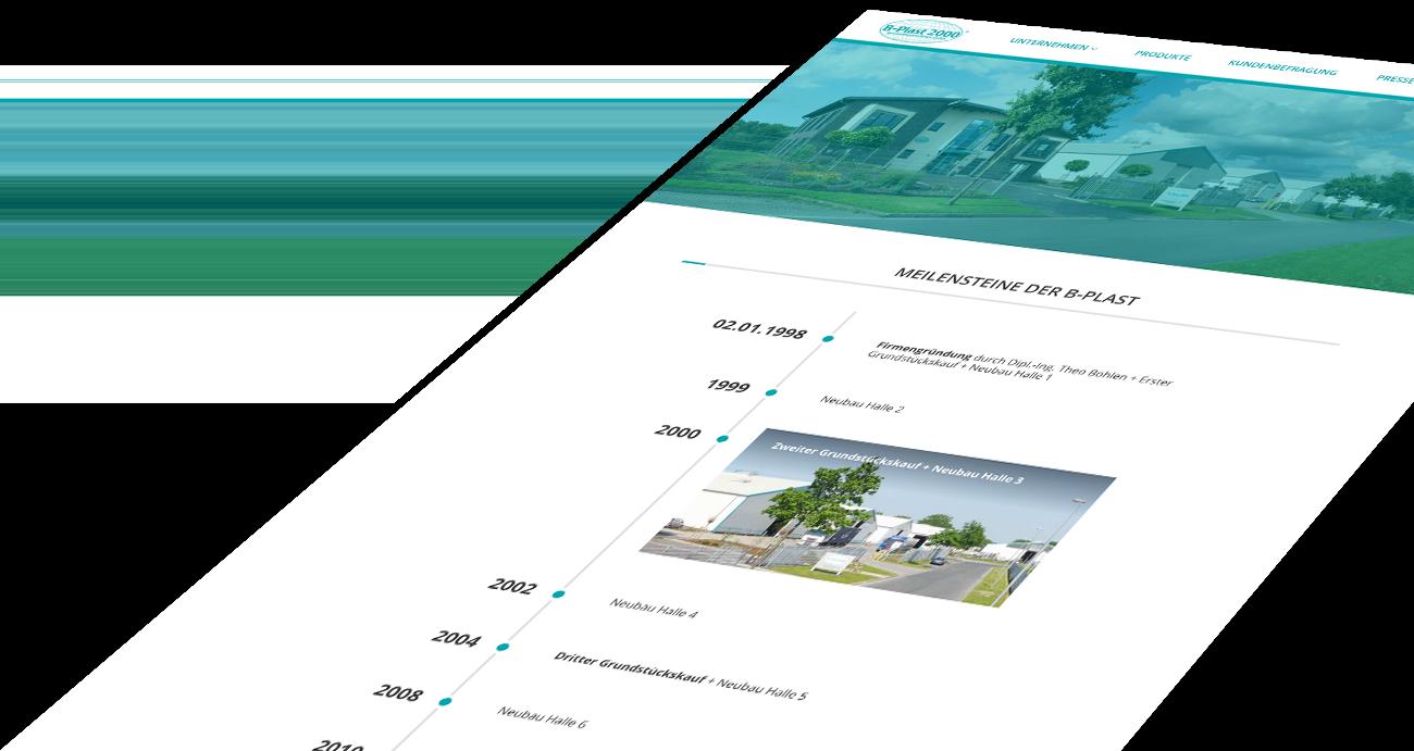B-Plast 2000 im Responsive Webdesign