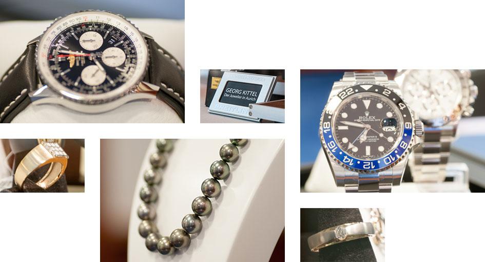 Produktfotografie für Juwelier Kittel