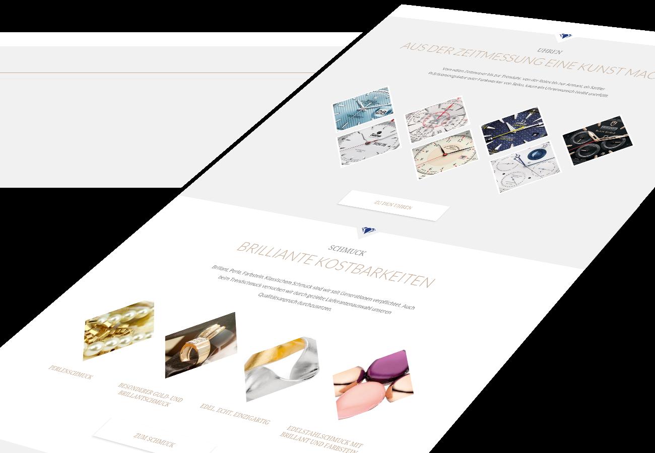 Juwelier Kittel im Responsive Webdesign
