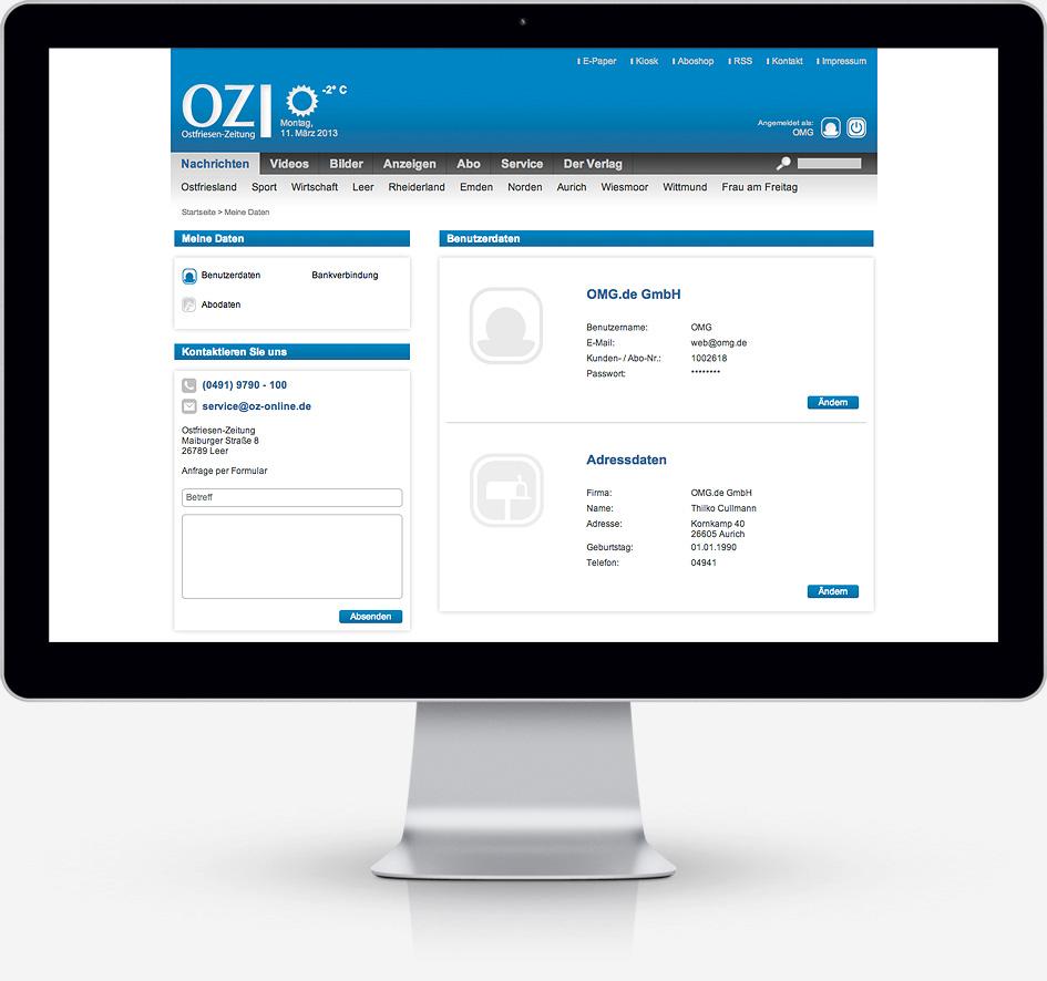 OZ Display