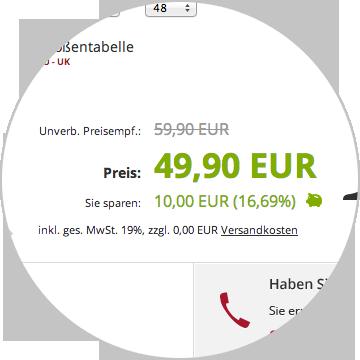 SchuhXL Saving